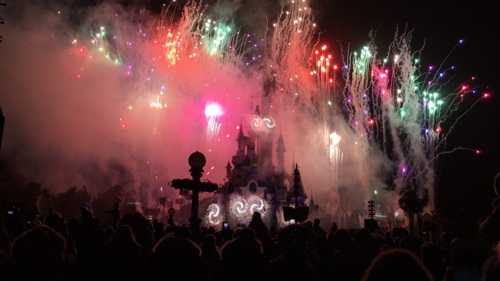 Show no Castelo da Disneyland Paris