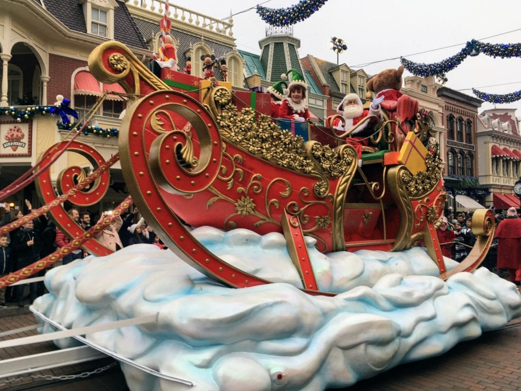 Desfile de Natal na Disney Paris