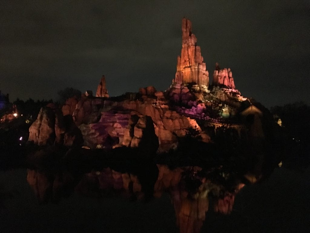 ThunderMountain na Disneyland Paris