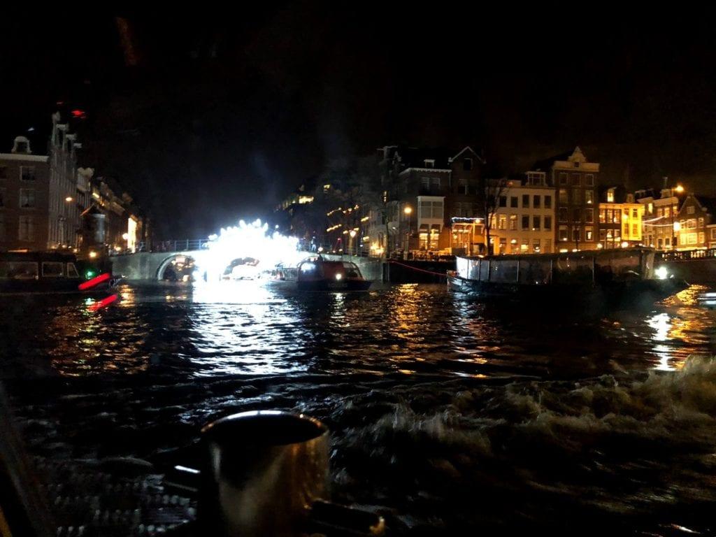 Passeio de Barco em Amsterdam
