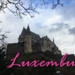 Castelo Vianden em Luxemburgo!