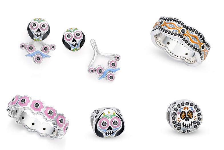 coleção de jóias Disney Viva / Coco