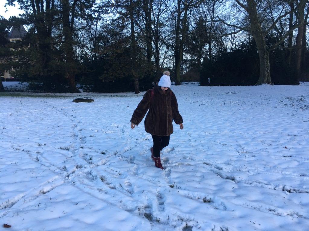Neve em Luxemburgo