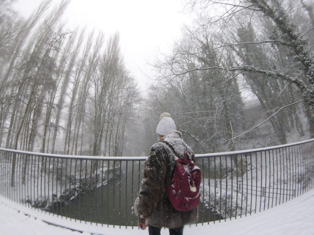 Neve em Luxemburgo, Europa