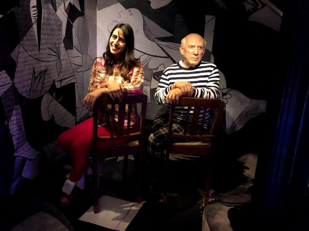 Picasso no Madame Tussauds Amsterdam