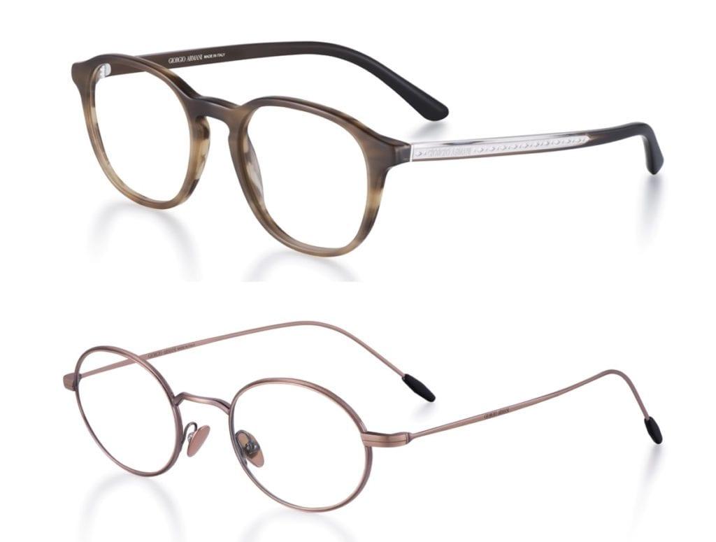Mini óculos de grau