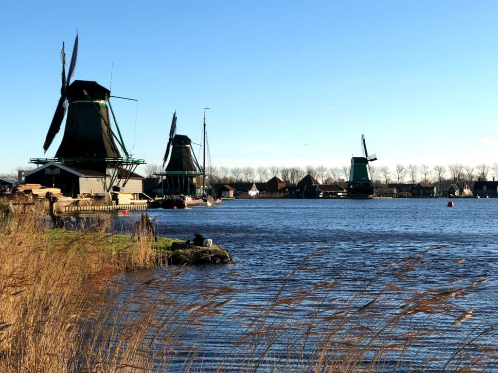 Zaanse Schans em Amsterdam, Holanda