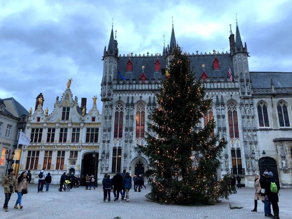 Bruges no Natal