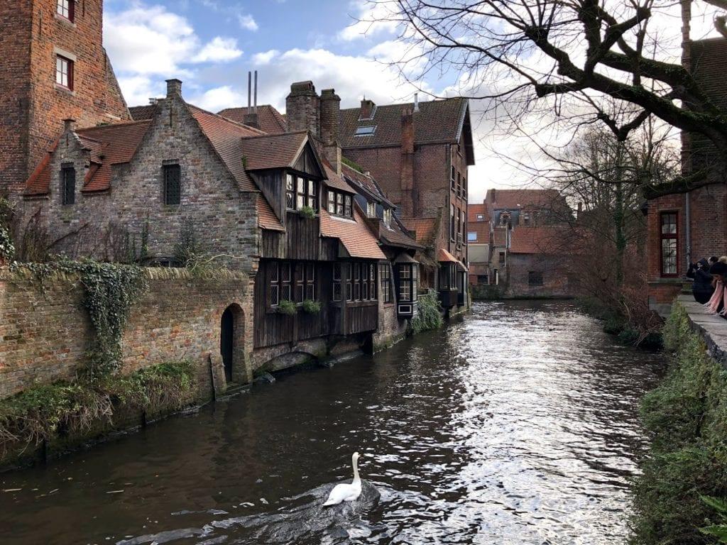 Canais de Bruges, Bélgica