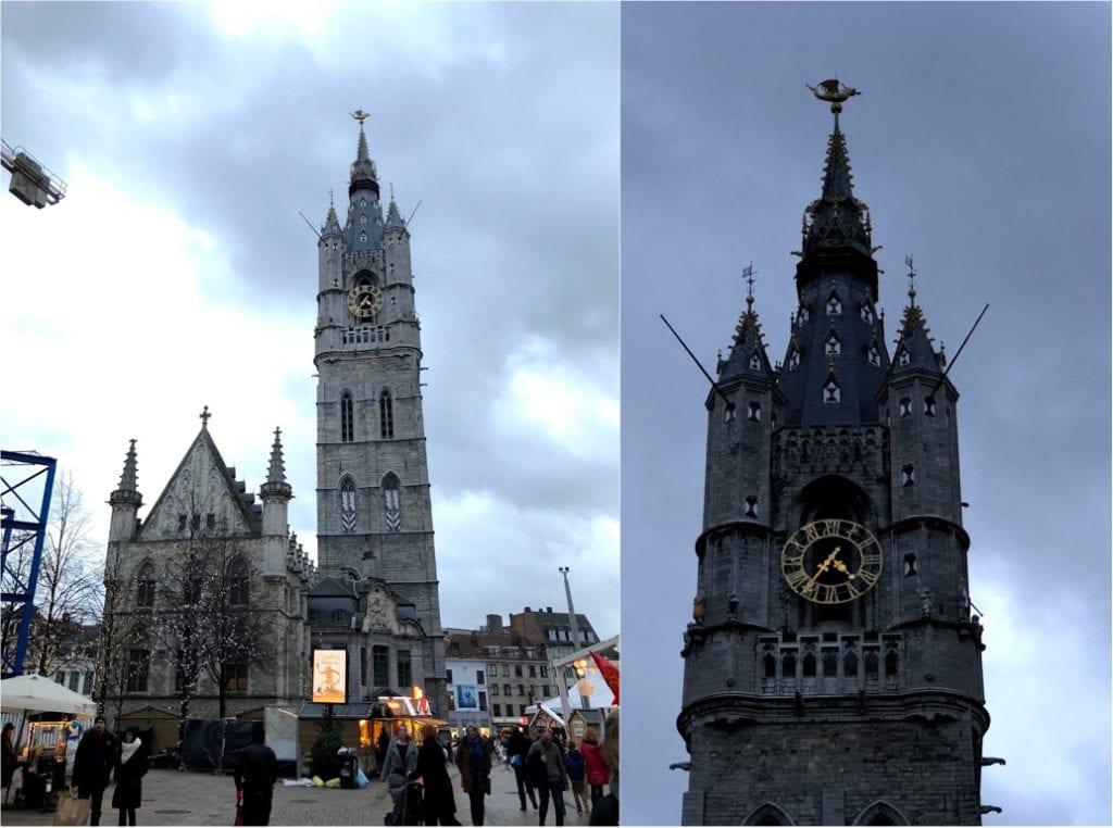 Belfry Gent na Bélgica