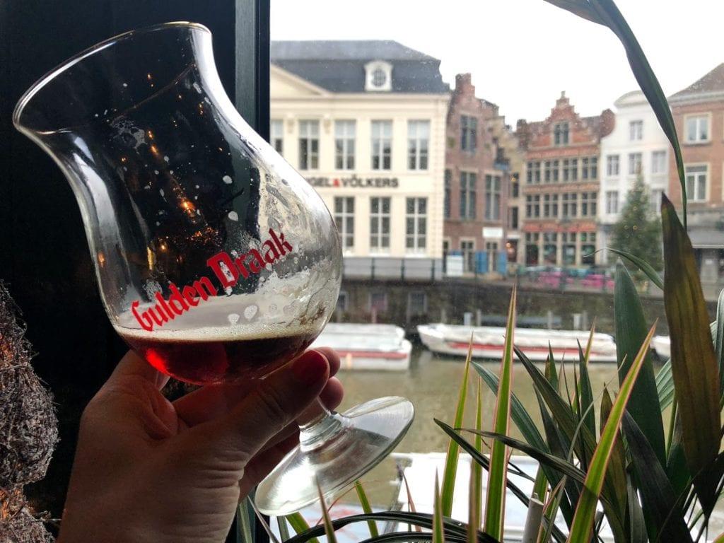 Gulden Draak, cerveja belga de Gent
