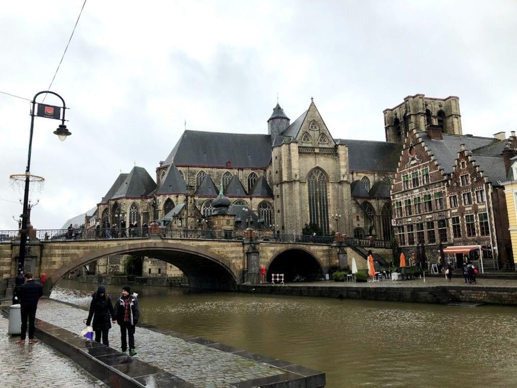 Gent na Bélgica