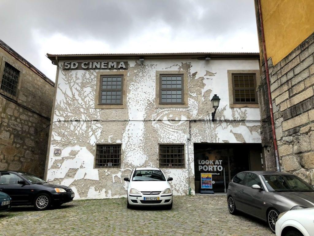 Vhils no Look at Porto, Portugal