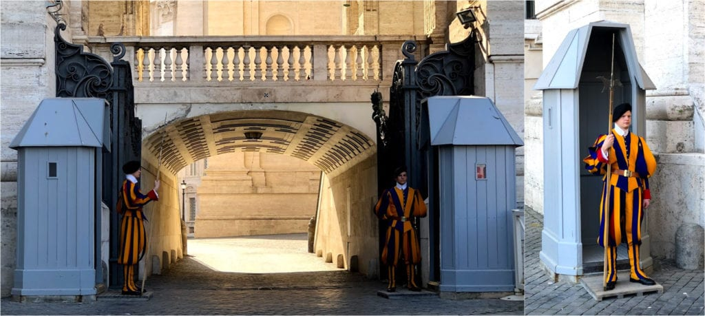 Guarda Suíça no Vaticano, Roma
