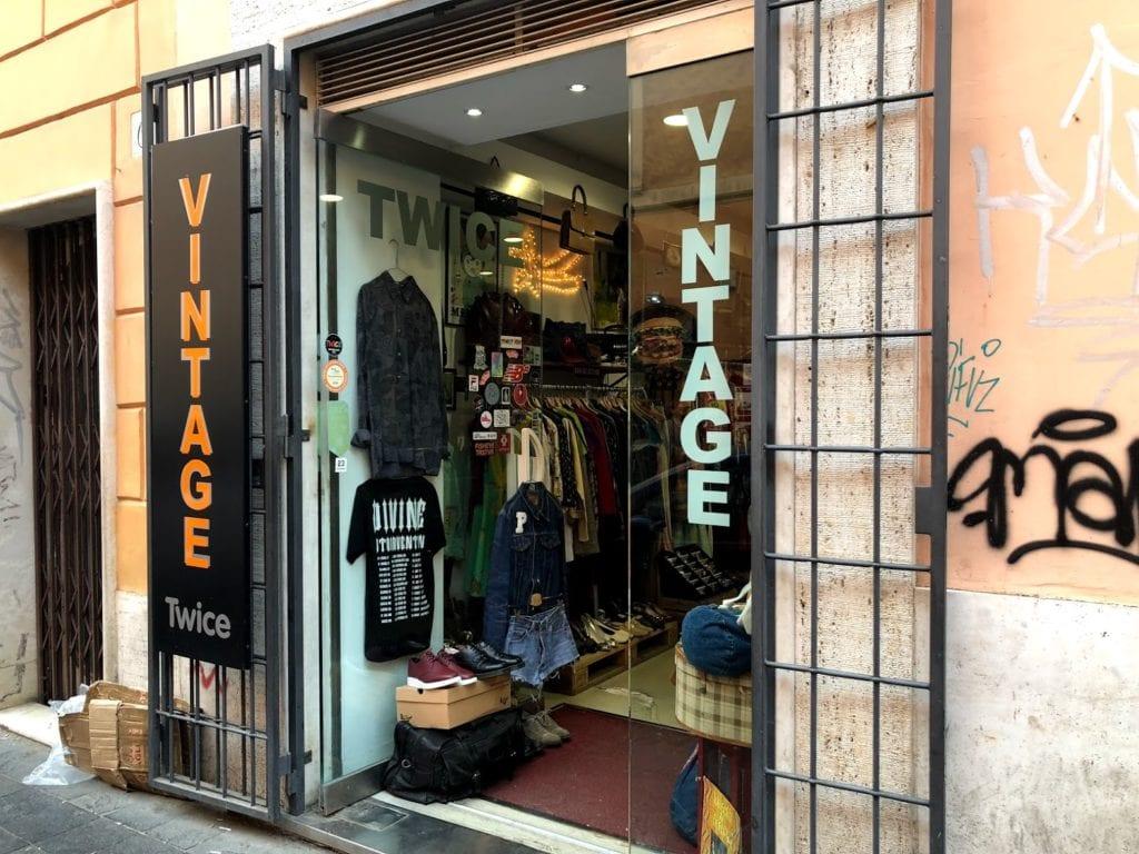 Compras em Roma: Vintage Shops