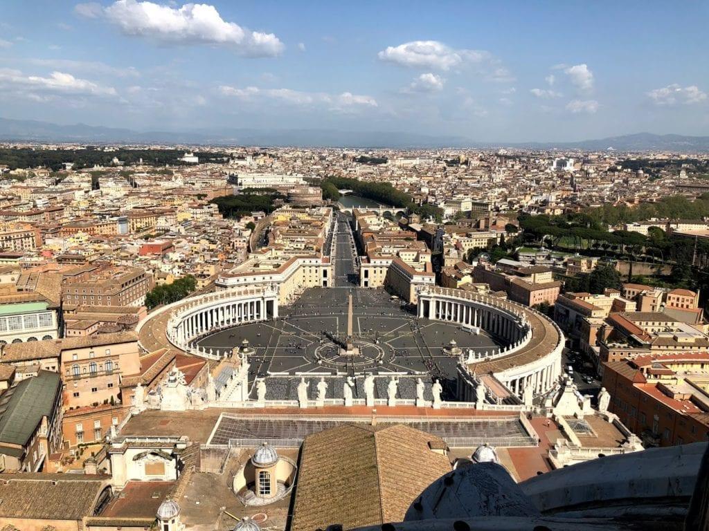 Cúpula da Basílica de São Pedro, Vaticano