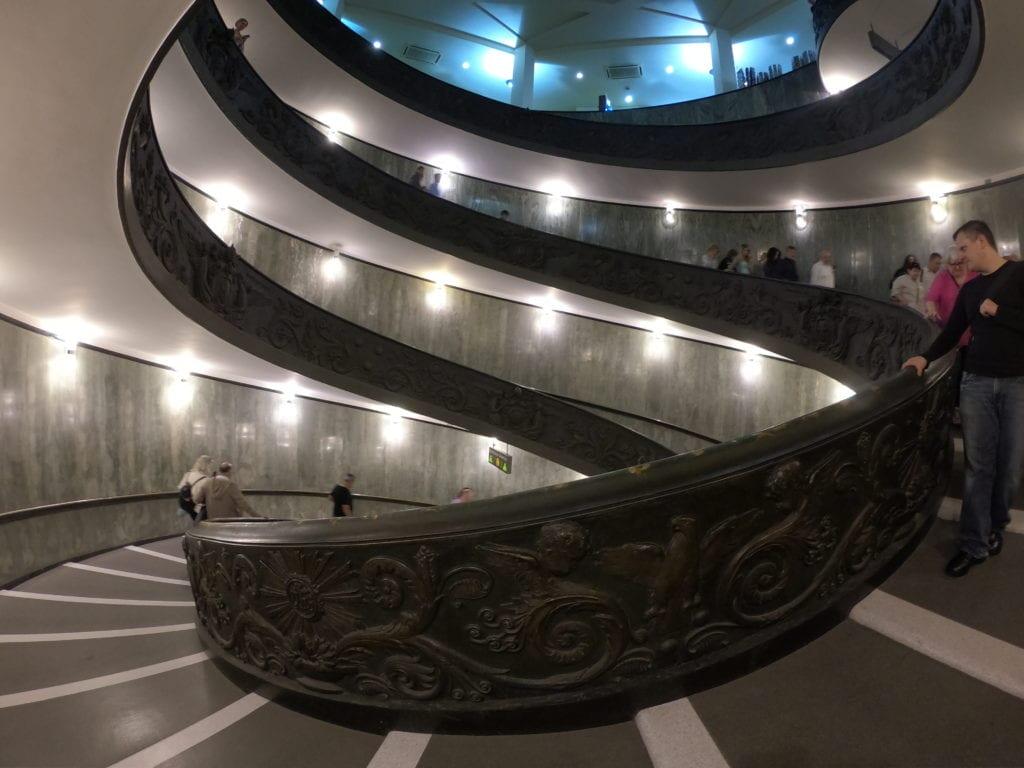 Escada dos Museus do Vaticano