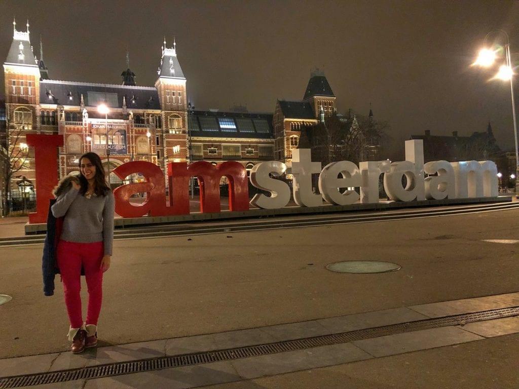 Como ver o letreiro de Amsterdam sem ninguém