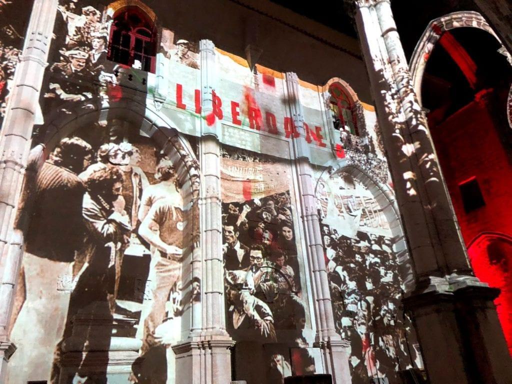 Video Mapping em Lisboa: Lisbon Under Stars