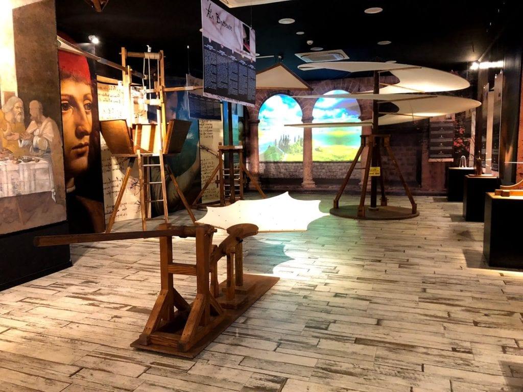 Museu Leonardo da Vinci Experience, Roma, Itália