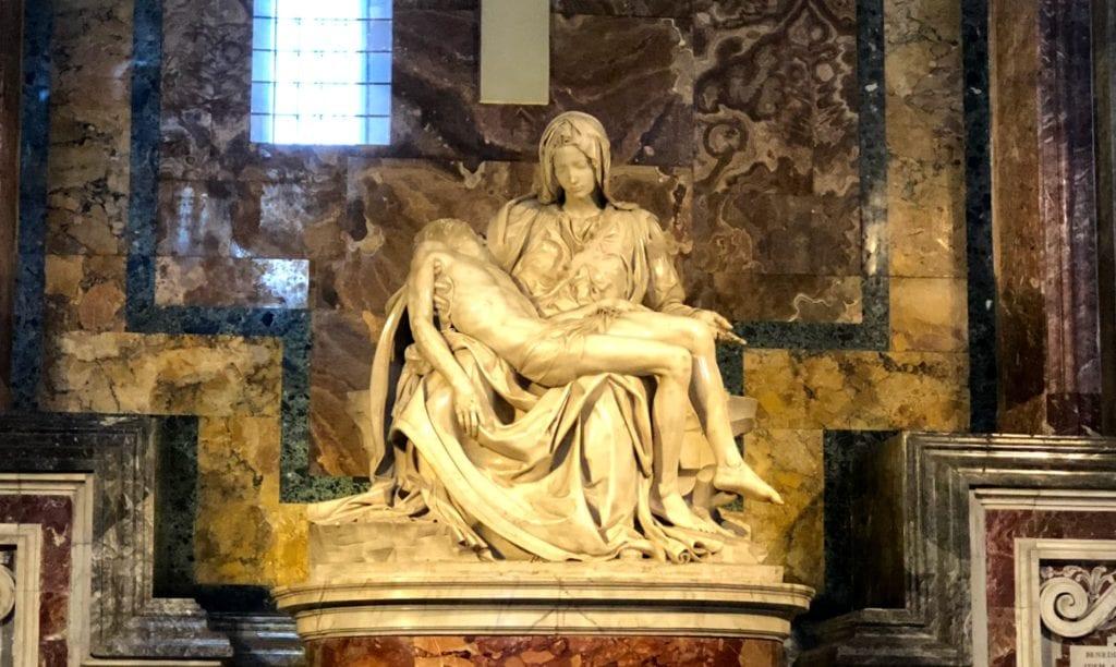 Pietá, de Michelangelo