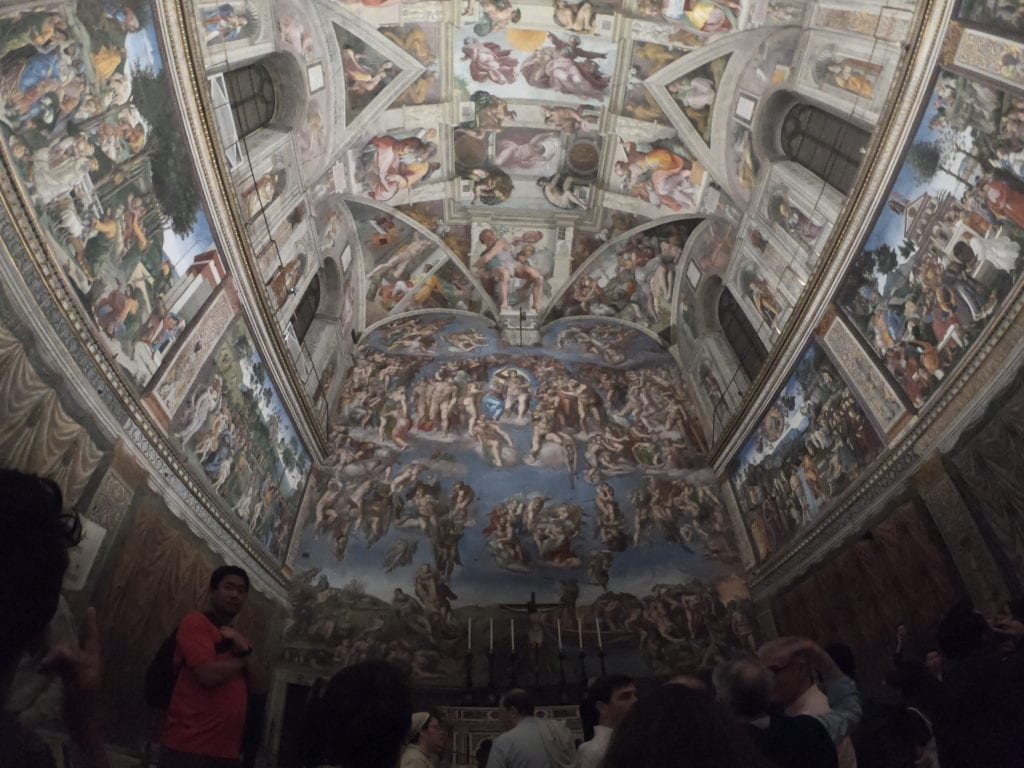 Capela Sistina, Vaticano, Roma