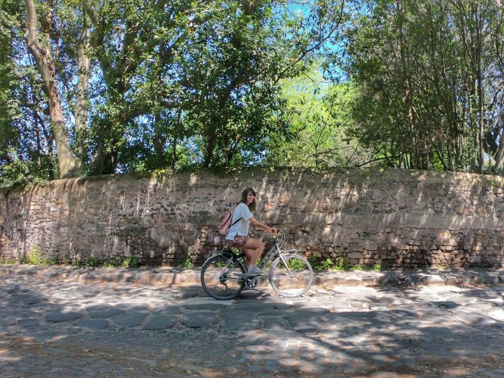 Via Appia Antica de bike, Roma