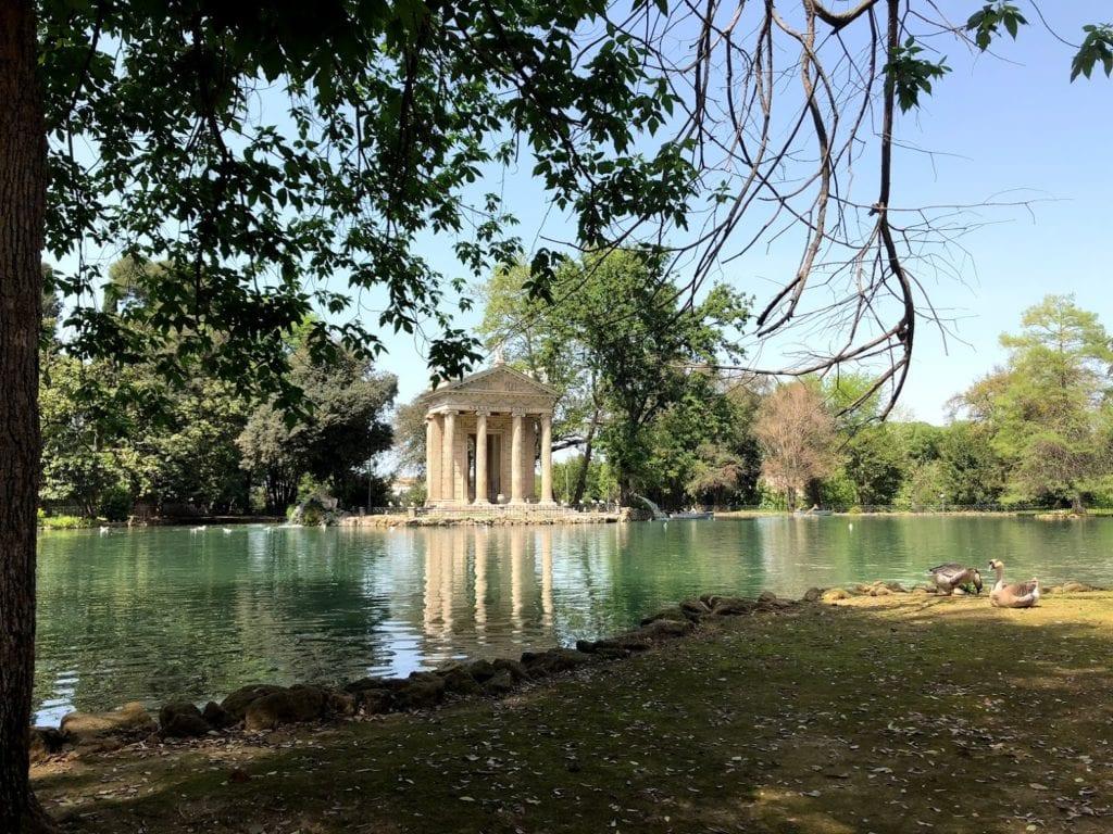 Villa Borghese em Roma