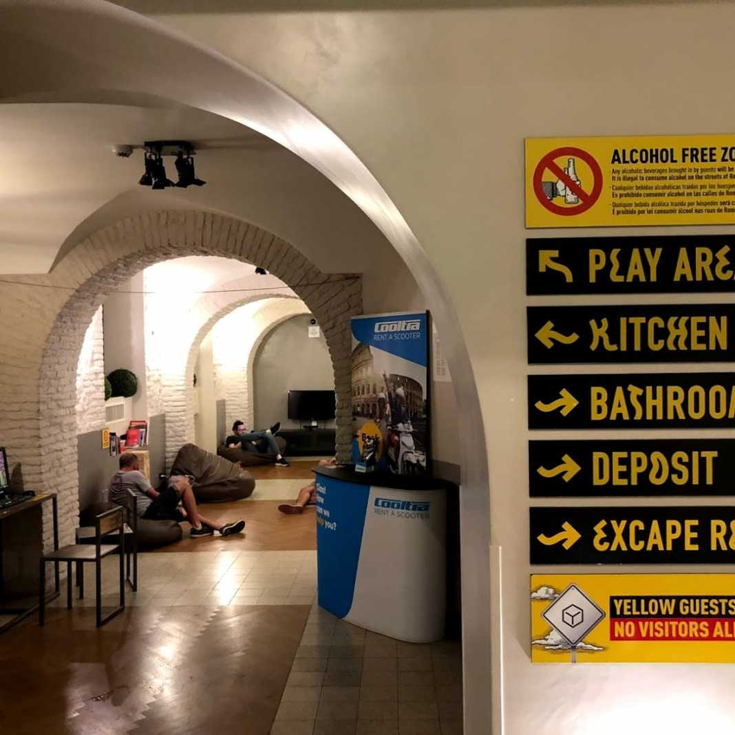 The Yellow Hostel, Roma, Itália