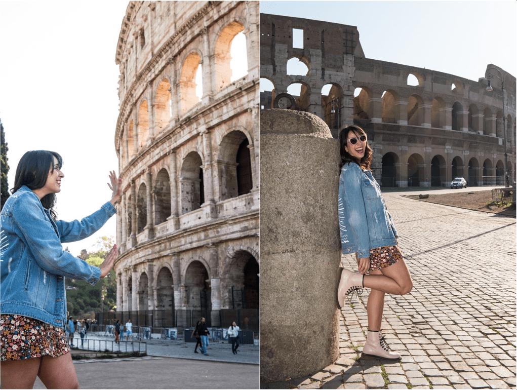 Ensaio Fotográfico no Coliseu, Roma