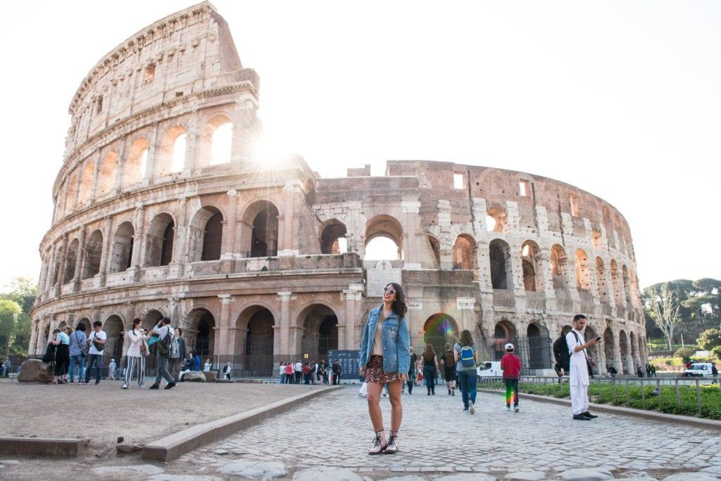Ensaio Fotográfico em Roma, Itália - Coliseu