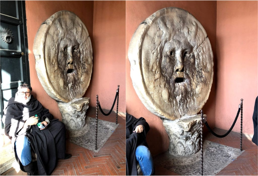 La Bocca della Verità, Roma Itália