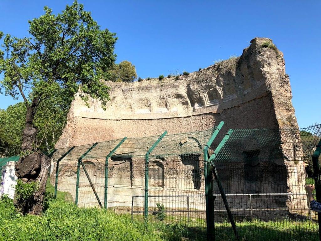Termas de Trajano, em Roma, Itália