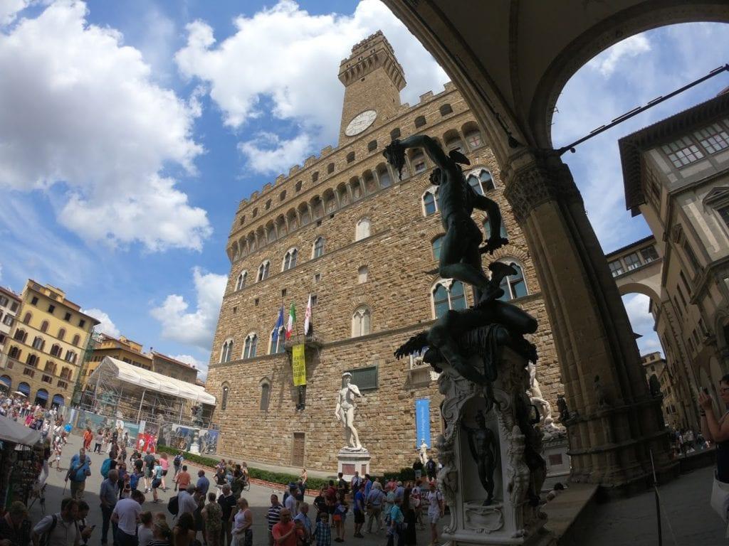 Piazza della Signoria, Firenze, Itália