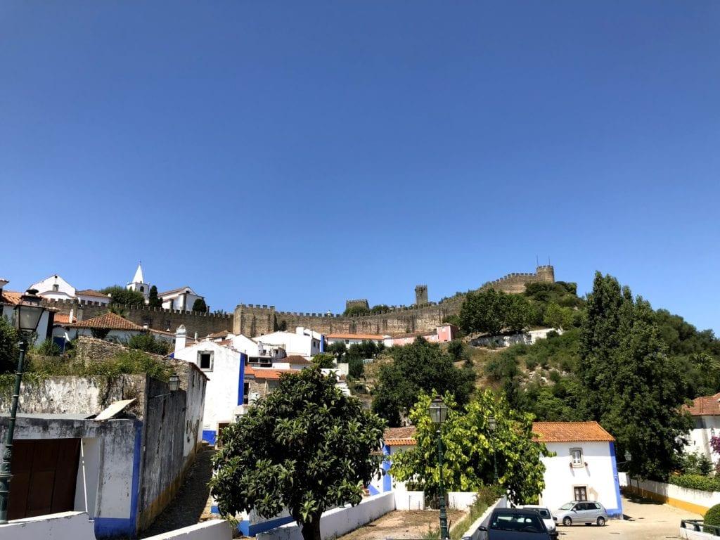 bate volta de Lisboa: Óbidos, Portugal