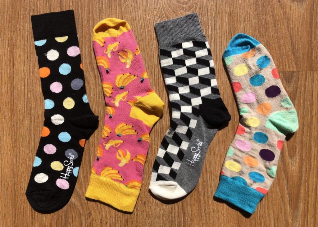 Meia Colorida Happy Socks