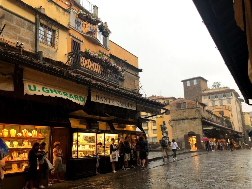Compras em Florença / Firenze, Itália: Ponte Vecchio