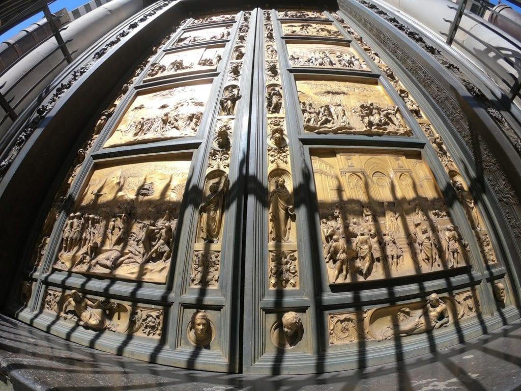 As Portas do Paraíso em Firenze, itália