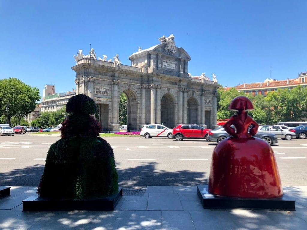 Parque de el Retiro em Madrid