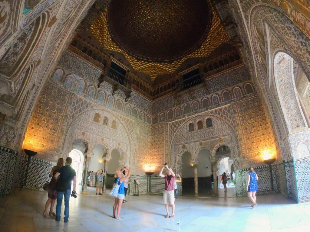 Roteiro de Sevilha em 1 dia: Real Alcázar de Sevilha