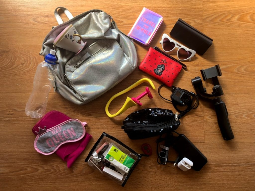 O que levar na bolsa durante a viagem