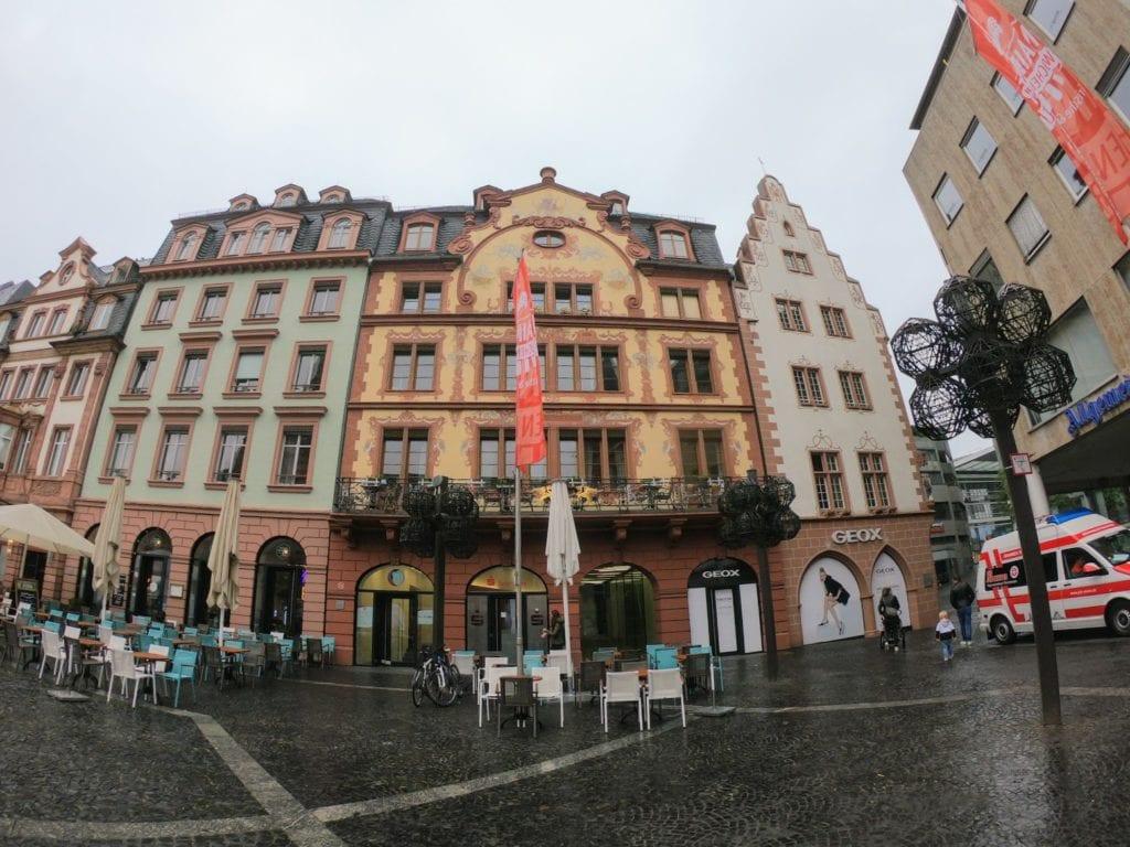 Um dia em Mainz, na Alemanha