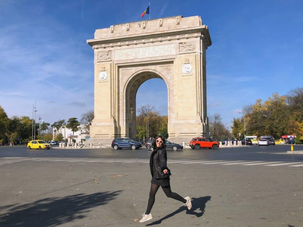 Arco do Triunfo, Bucareste, Romênia