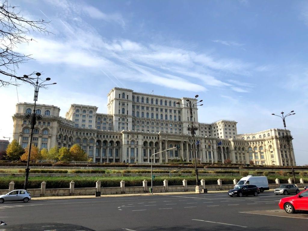 Palácio do Parlamento em Bucareste, Romênia
