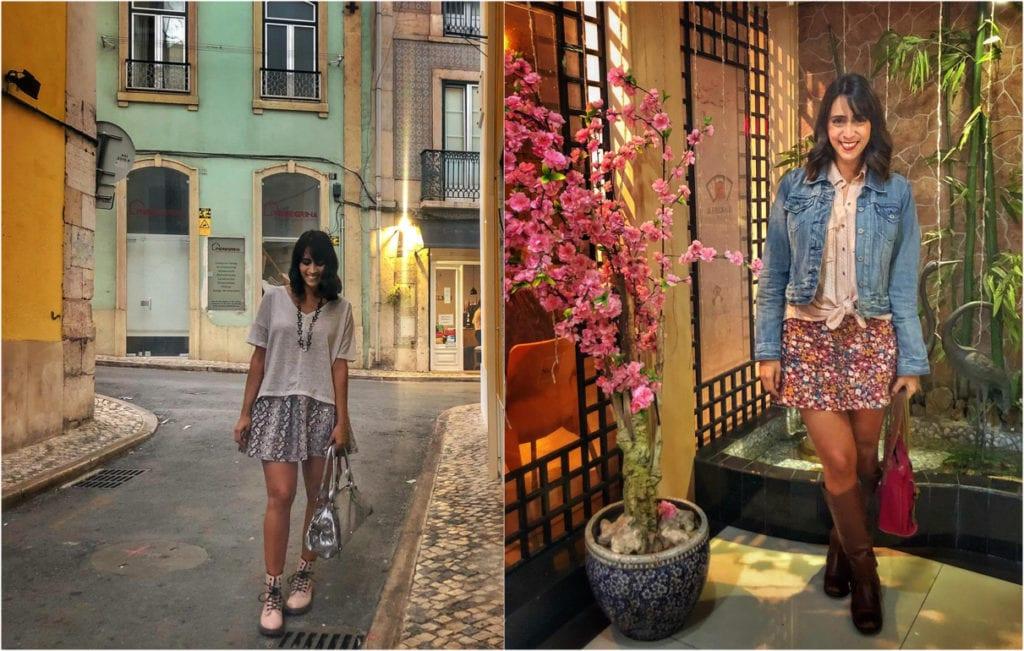 roupas para outono em Portugal