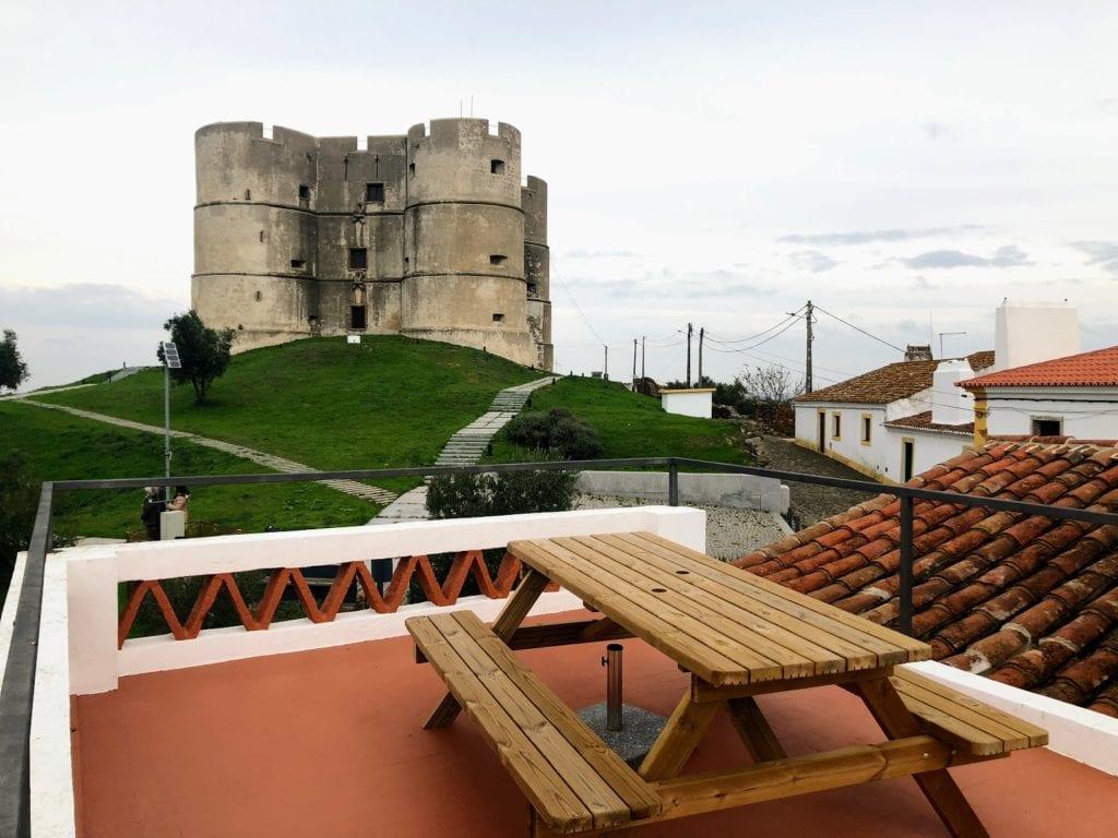 Castelo de Evoramonte, Alentejo, Portugal