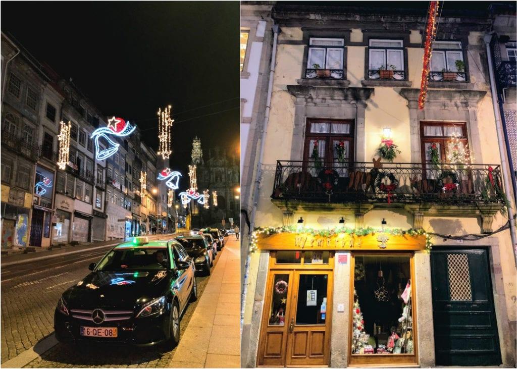 Luzes de Natal no Porto, Portugal