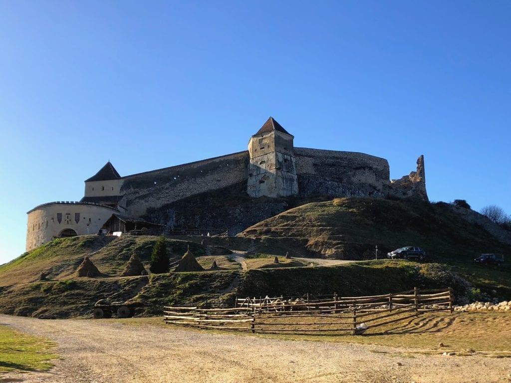 Fortaleza de Rasnov, Transilvânia, Romênia
