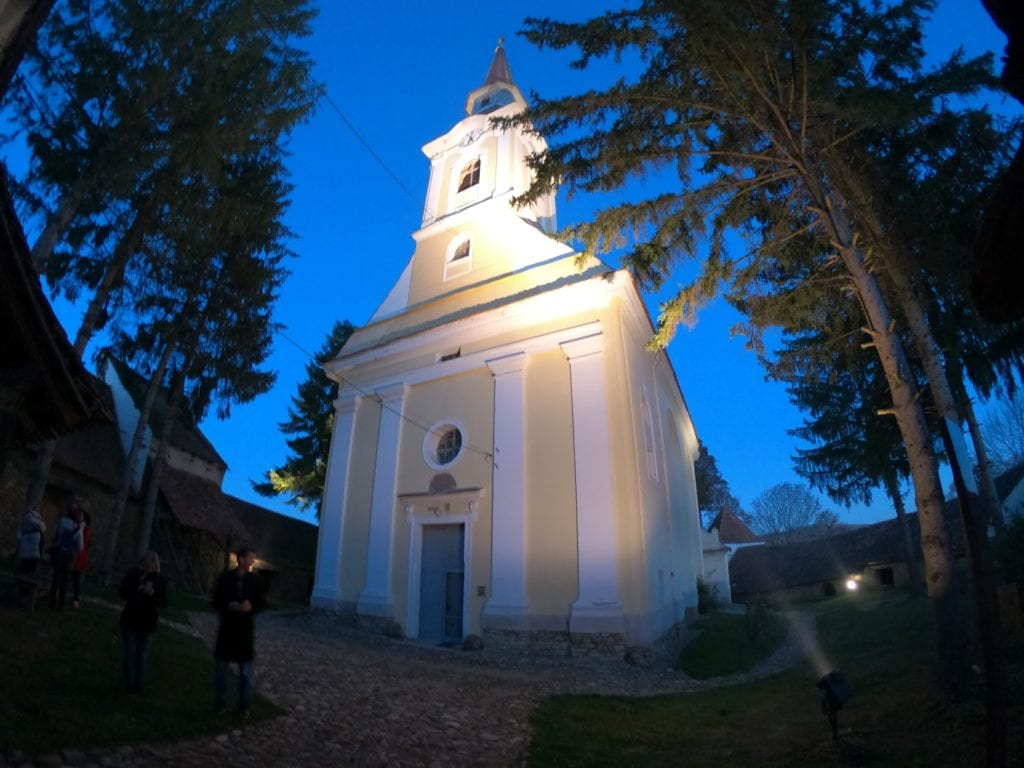 Igreja Fortificada Crit, Transilvânia, Romênia