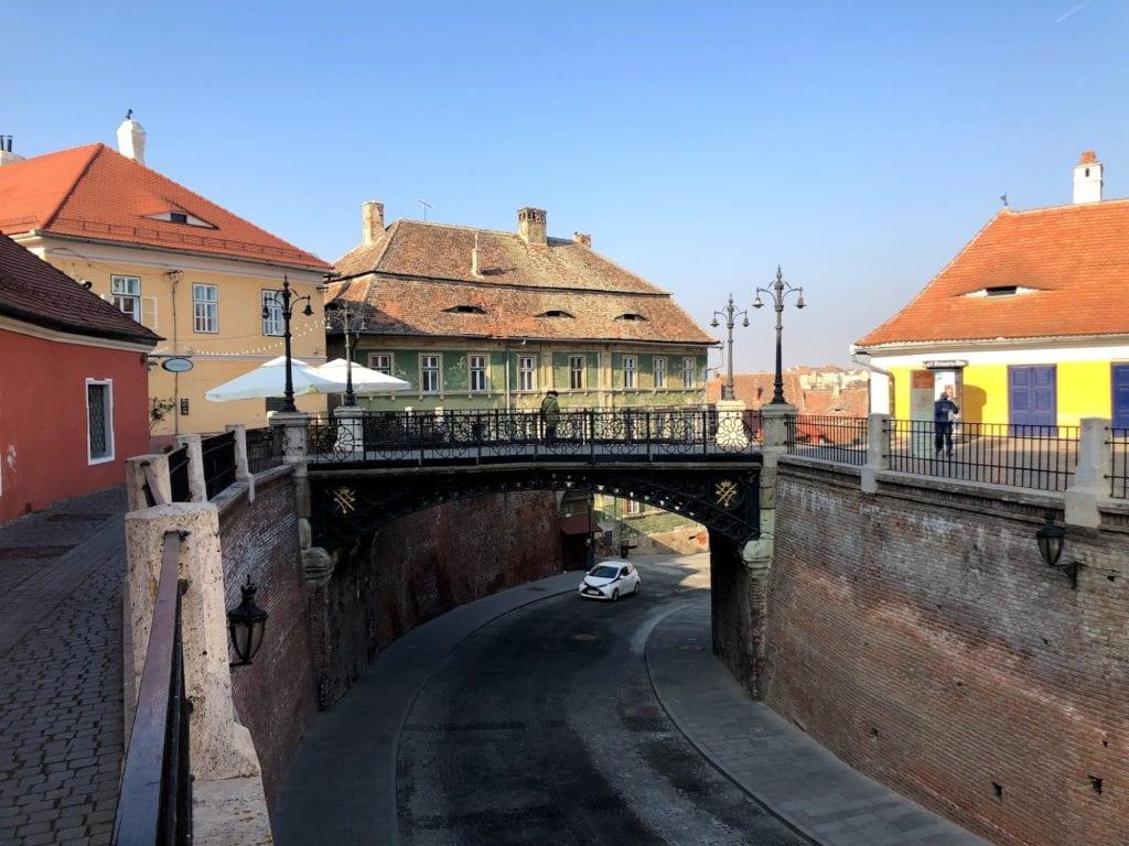 Ponte das Mentiras, Sibiu, Romênia
